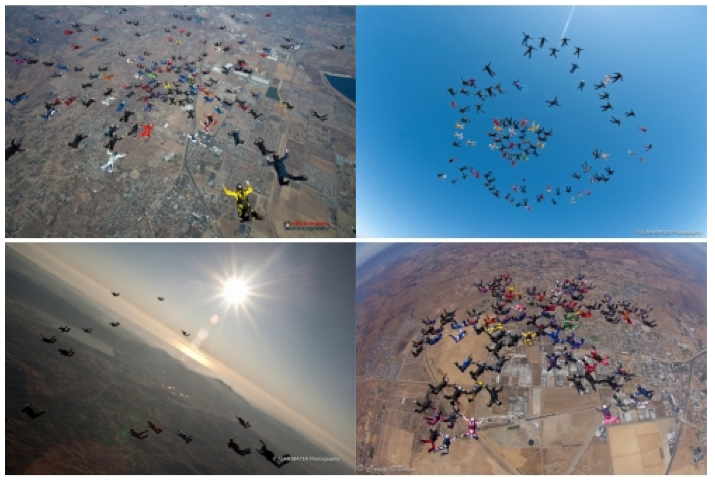 Skydive Perris 200 way meet up