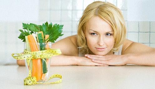 mengkonsumsi banyak buah dan sayur