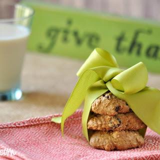 Gluten Free Oatmeal Raisin Cookie.