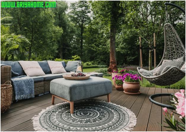 Tips Jitu Cara Memilih Furniture Ruang Luar Untuk Taman