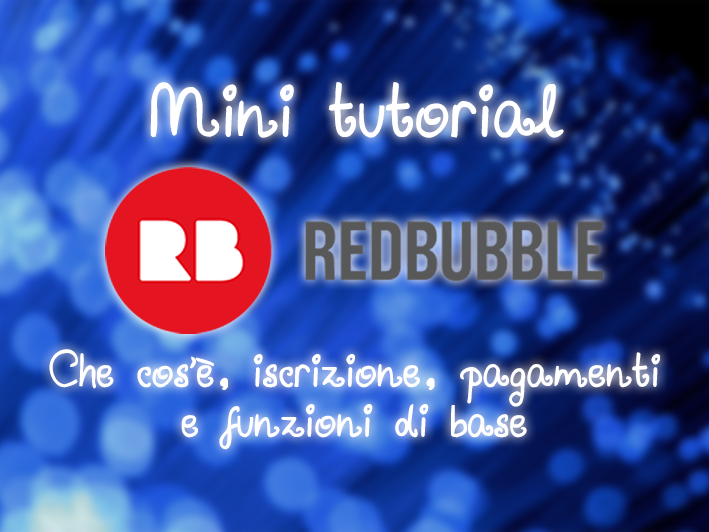 Mini tutorial RedBubble