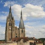 Château : vue sur l'église Saint-Germain l'Auxerrois