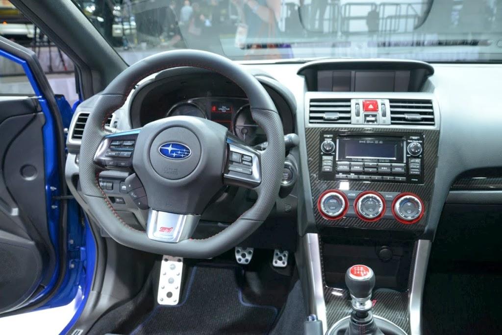 2015 Subaru WRX STI NAIAS 10