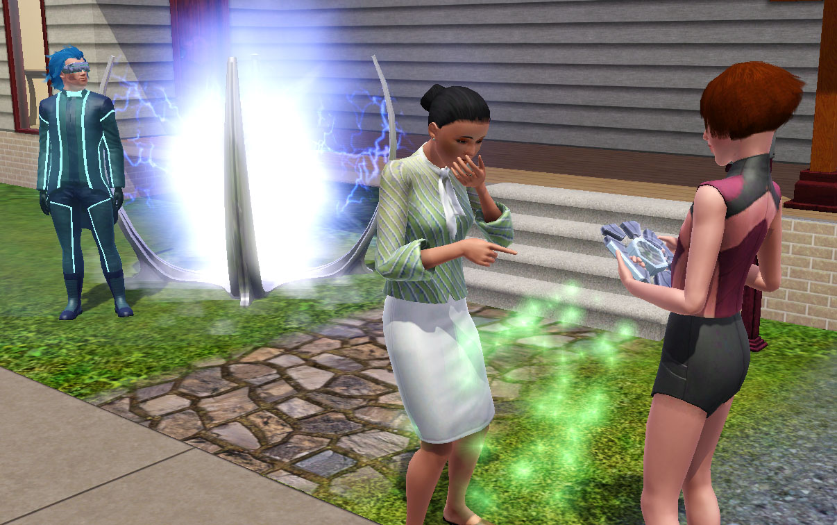 The Sims 3 Into the Future Blogs - Pinguïntech