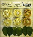 Petaloo: Yellow - Darjeeling Garden Mini Rosette