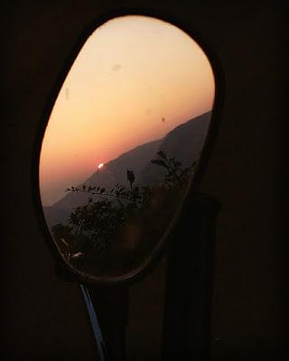 सूर्यास्त caption in marathi | sunset quotes in marathi