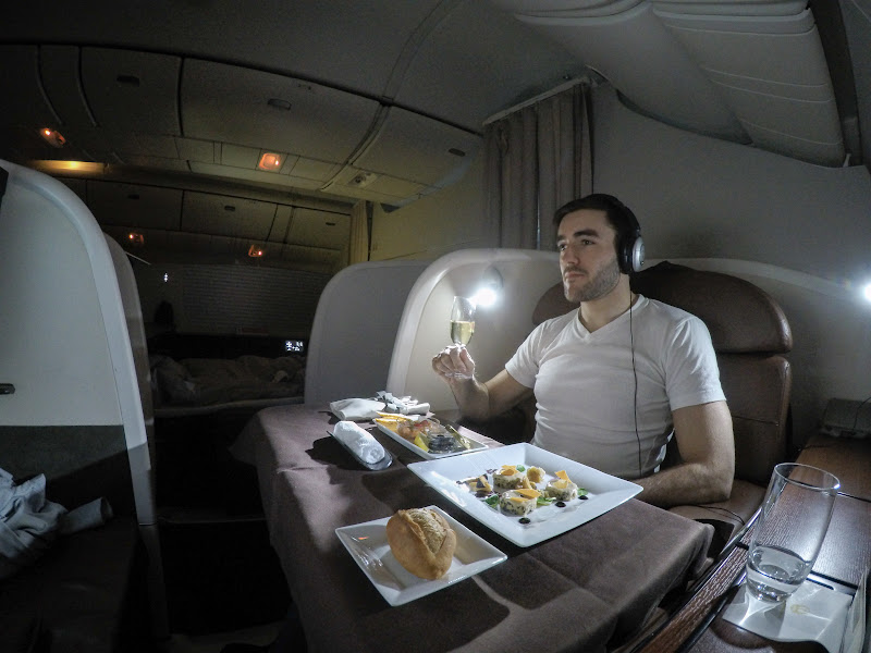 JL%252520F%252520HND LHR 123 - REVIEW - JAL : First Class - Tokyo Haneda to London (B77W)