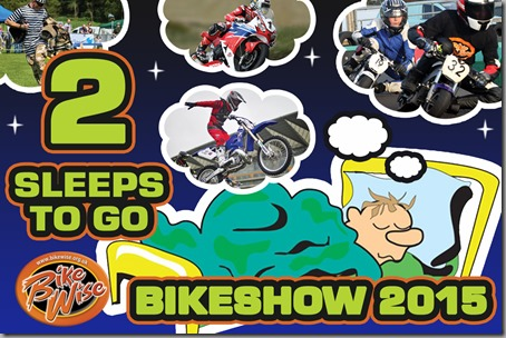 Bikewise Countdown (2 sleeps) Graphic