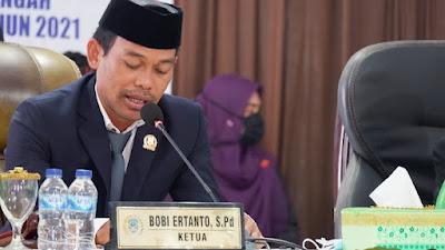 DPRD dan Pemkab Buteng, Gelar Rapat Paripurna Jelang HUT ke-7