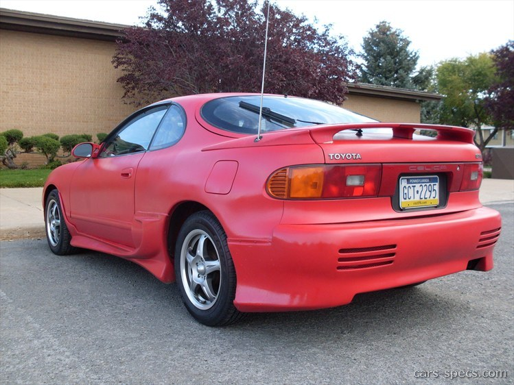 1990 toyota celica hatchback specifications pictures prices. Black Bedroom Furniture Sets. Home Design Ideas