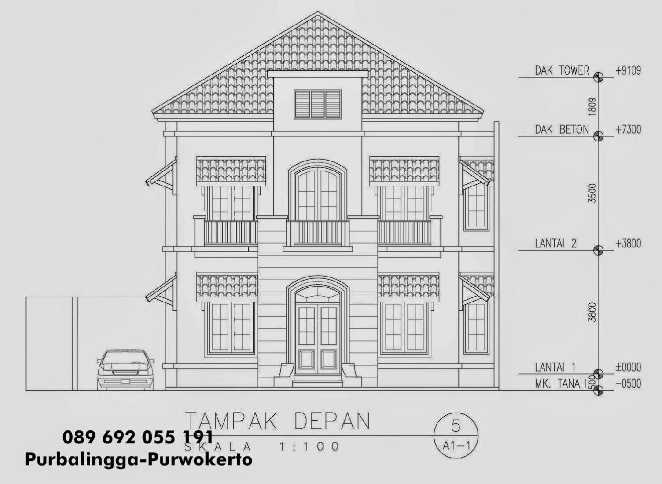 Galeri Contoh Gambar Rumah 3d Pensil Skipjpg