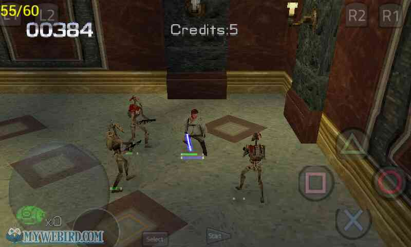 Star Wars Jedi Power Battles Gameplay