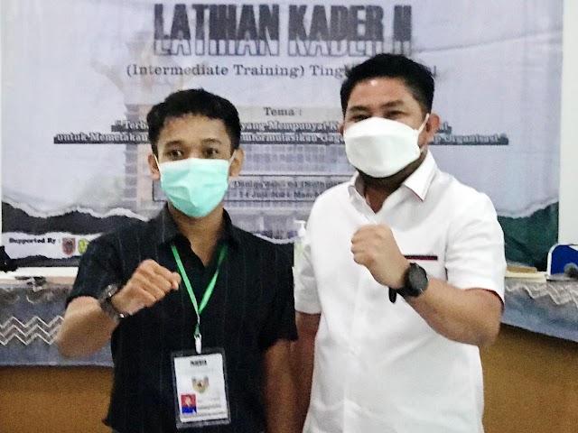 Waket DPRD Kalsel Jadi Narasumber di Pelatihan Kader HMI