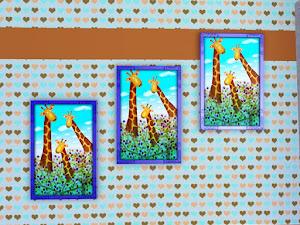 De Sims 3 hoogte aanpassen van muurdecoraties