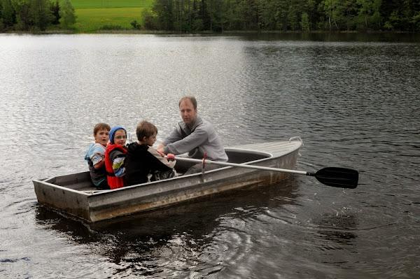 O jízdu po rybníce byl mězi dětmi veliký zájem.