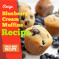 Blueberry Cream Muffins Recipes
