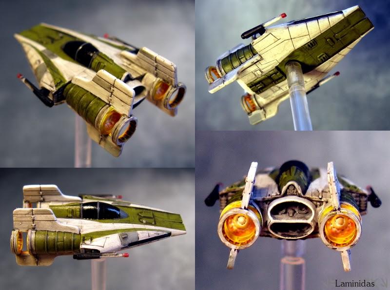 Laminidas' farbige Werften 140228+X-Wing+-+A-Wing+2