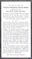 Monde, Johannes Theodorus Simon Bidprentje .jpg
