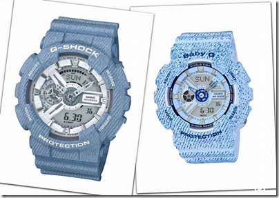 Casio G-SHOCK Baby-G Denim' D Color 01