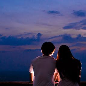 Stop Think and Talk by Jed Ivan Javillo - People Couples ( love, boyfriend, girlfriend, couple, bestfriend )