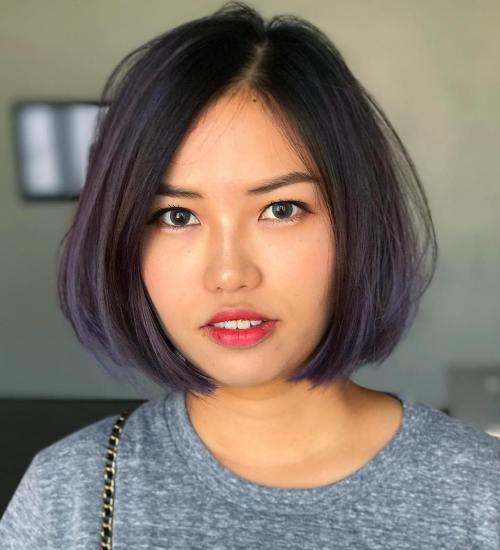 Cute Looks With Short Hairstyles For Round Faces 2018 2019