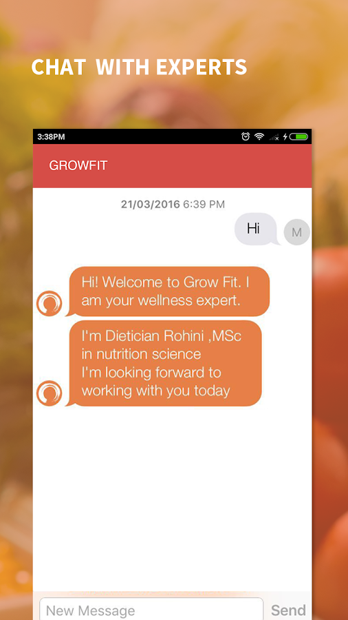 Grow Fit : Nutrition & Diet- screenshot