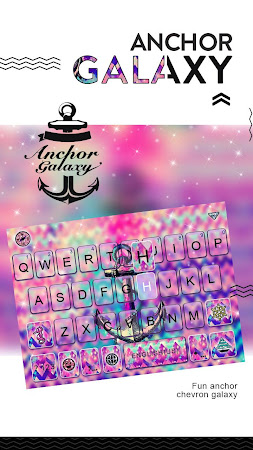 Anchor Galaxy Kika Keyboard 60.0 screenshot 2088716