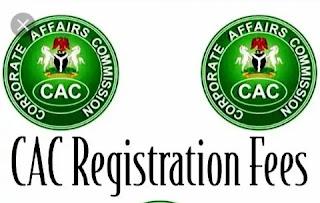 CAC Registration Fees