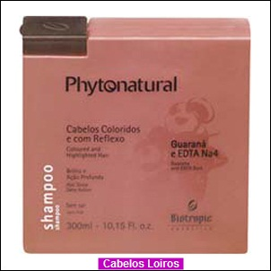 1010401 - Loiro com Phytonatural.