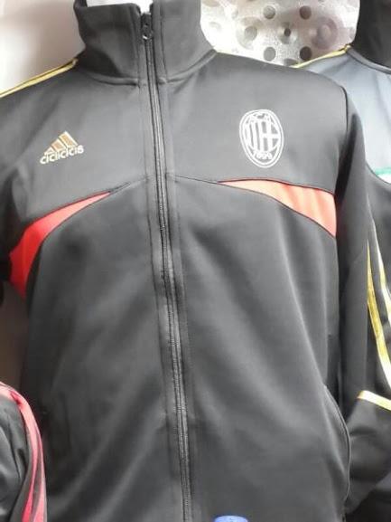 Jual Jaket AC Milan Hitam Grade Ori