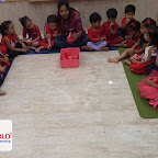 Red Day Celebration by Nursery Evening Section at Witty World, Chikoowadi (2018 - 19)
