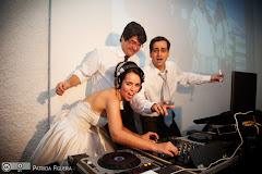 Foto 2594. Marcadores: 04/12/2010, Casamento Nathalia e Fernando, DJ, DJ Taw, Niteroi, Otavio Aoad, Rastropop