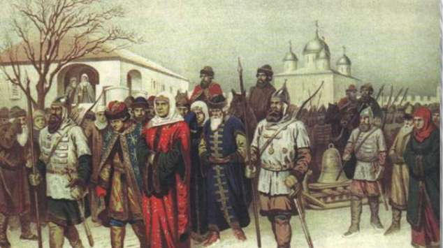 славяне идут