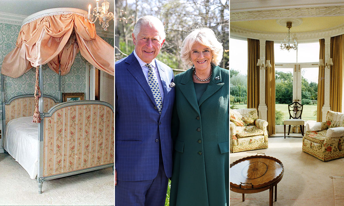 Prince Charles' Wife Camilla's Beautiful Secret Home - and it's so beautiful