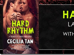 New Release: Hard Rhythm (Secrets of a Rock Star #3) by Cecilia Tan + Excerpt and GIVEAWAY