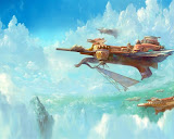 Flying Ships Of Fairytale