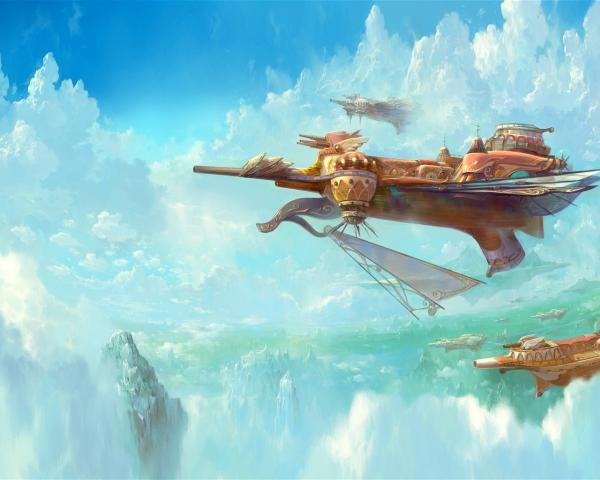 Flying Ships Of Fairytale, Magick Lands 2