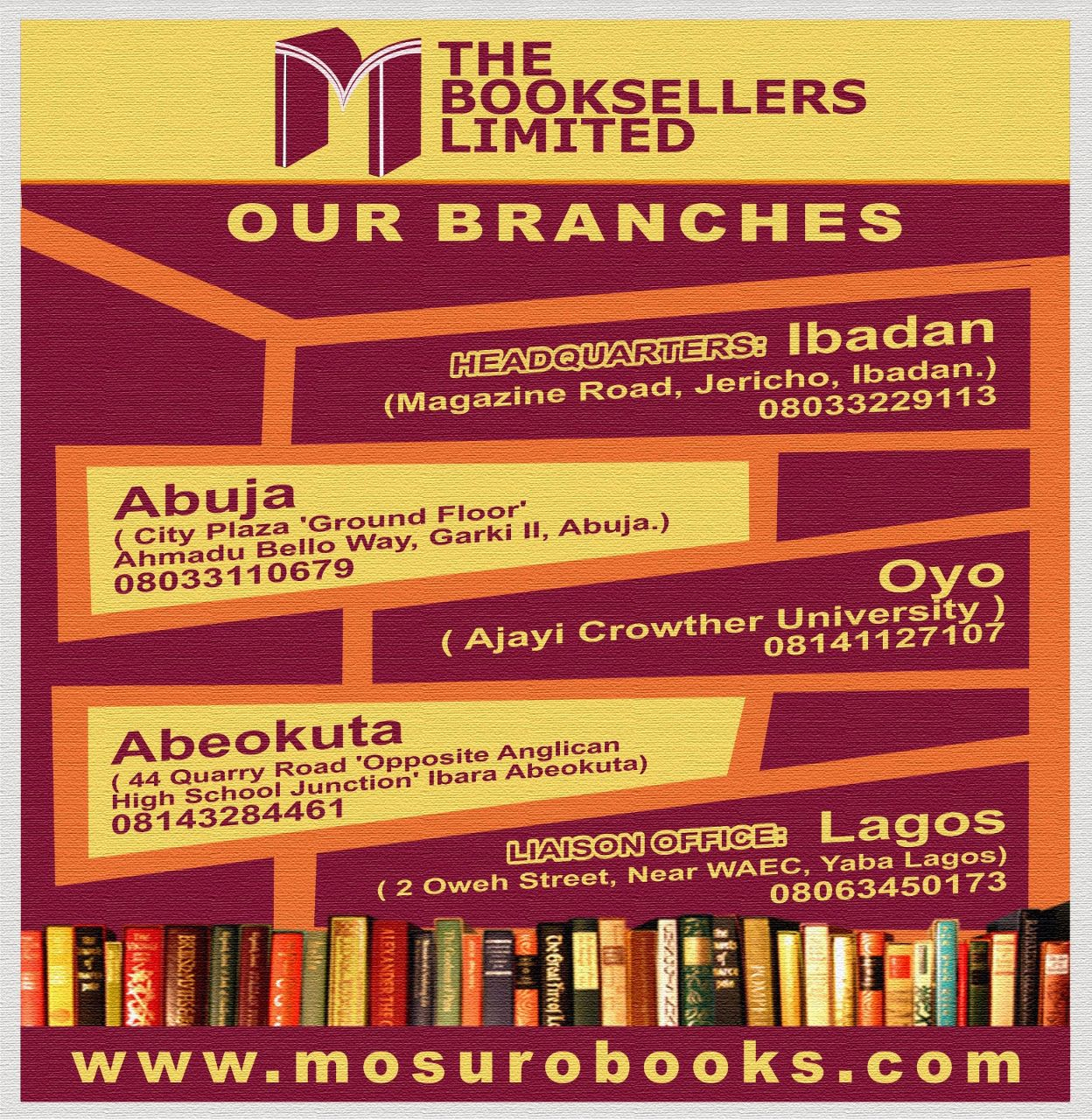 THE BOOKSELLERS LIMITED