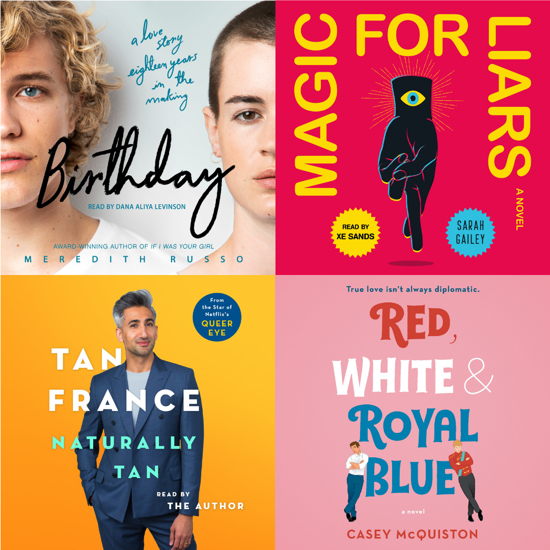 Listen with Pride: Audiobook Sweepstakes