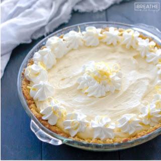 Lemon Cloud Pie - Low Carb and Gluten Free