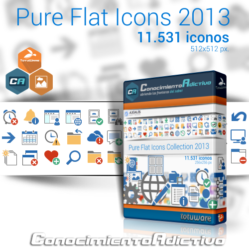 Pure Flat Icons Collections 2013