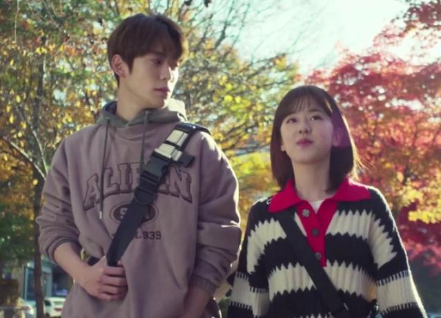 Park Hye Soo Dalam Drama Dear.M Berubah Menjadi Mahasiswa Ceria
