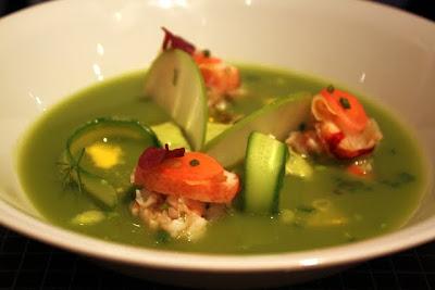 Starter at Ze Kitchen Galerie restaurant in Paris France