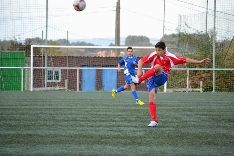 Pablo CAVEZZA defensa cadete do Numancia de Ares.