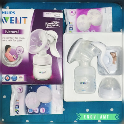 Philips Avent breast pumps comfort manual breast pumps, Pompa ASI manual