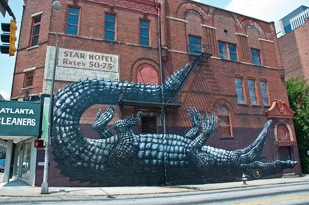 70 невероятни примера за улично изкуство