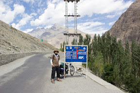The road turns right to go Yasin Valley. Another beautiful valley of Ghizer.