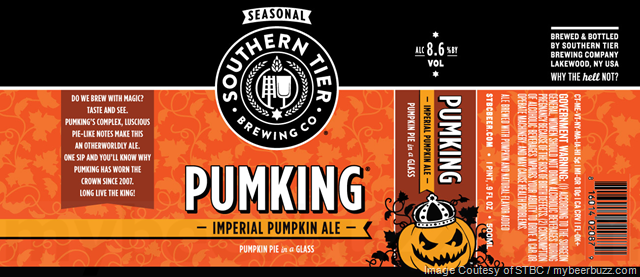 Southern Tier Pumking Returns For 2018 In 500ml & 12oz Bottles