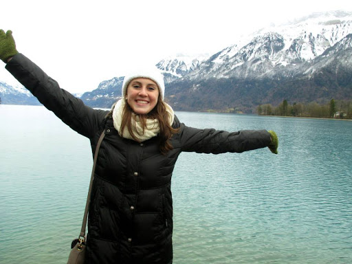 Katie Stavros, Interlaken, Switzerland. #StudyAbroadBecause... it will be the best four months of your life!