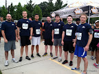 Most of Team FFG: Paul, Will, Dave, Ray, Justin, Logan, and Mike.